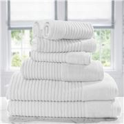 Jenny Mclean - Royal Excellency Towel Set 7pce Snow White