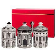 Fornasetti Profumi - Ordine Architettonico Candle Set 3pce
