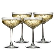 S & P - Winston Coupe Glass Set 4pce