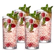 S & P - Winston High Ball Glass Set 4pce