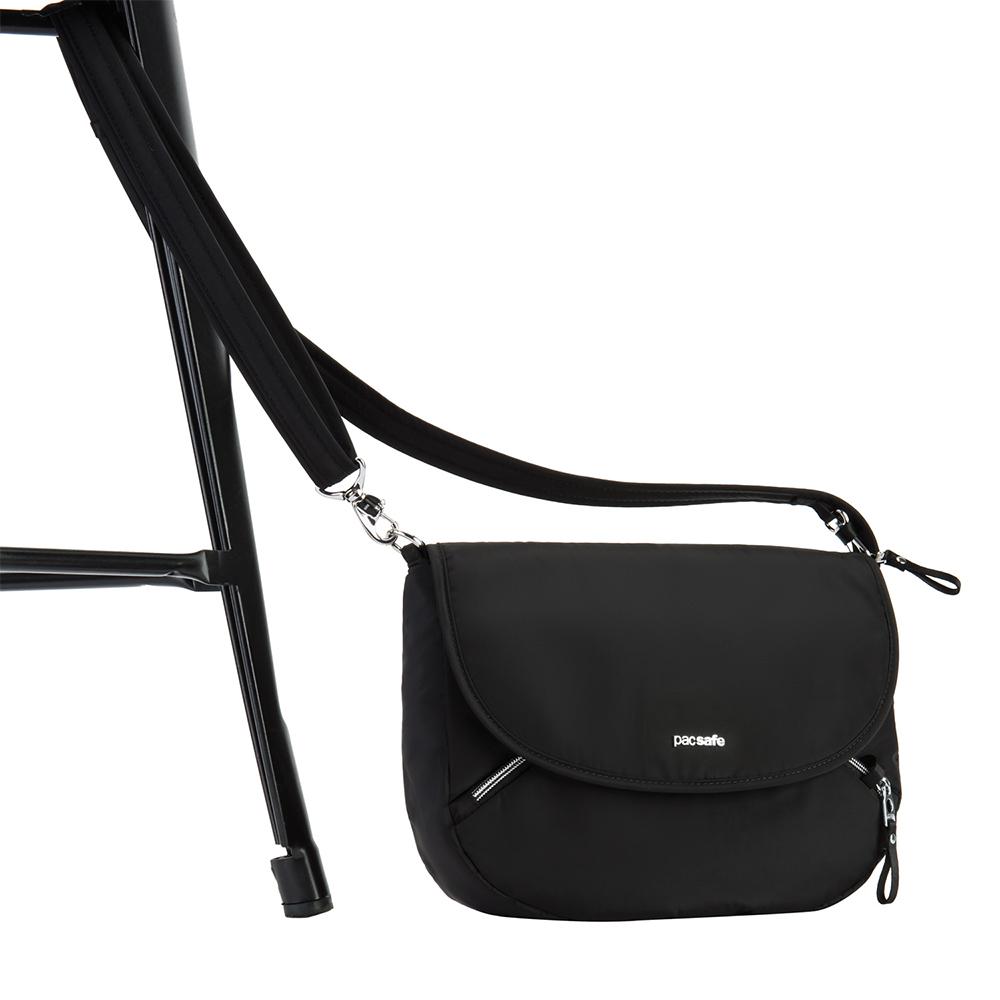 NEW-Pacsafe-Stylesafe-Crossbody-Bag-Black thumbnail 5