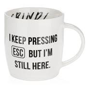 AT - I Keep Pressing ESC Coffee Mug