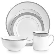 Wedgwood - Vera Wang Grosgrain 4pce Place Setting