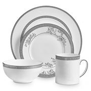 Wedgwood - Vera Wang Lace Platinum 4pce Place Setting