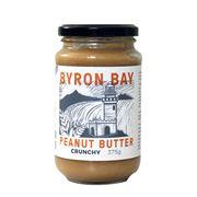 Byron Bay - Crunchy Salted Peanut Butter 375g