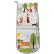 Ulster Weavers - Walkies Double Oven Glove 18x88cm