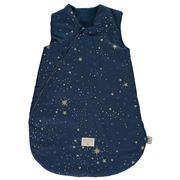 Nobodinoz - Cocoon Sleeping Bag Large Gold Stella/Night Blue