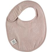 Nobodinoz - Candy Bib White Bubble/Misty Pink