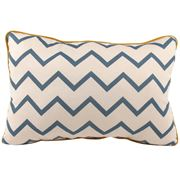 Nobodinoz - Jack Cushion Zig Zag Blue