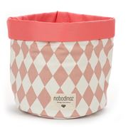 Nobodinoz - Mambo Basket Medium Pink Diamonds