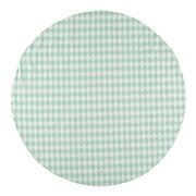 Nobodinoz - Apache Carpet Small Diamonds Green