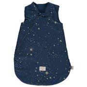 Nobodinoz - Cocoon Sleeping Bag Small Gold Stella/Night Blue