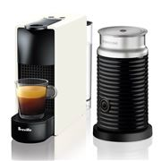 Breville - Nespresso Essenza Mini White Coffee Machine