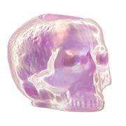 Kosta Boda - Still Life Skull Votive Holder Light Pink