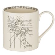 Big Tomato Company - Golden Age of Bicycles Derailleur Mug