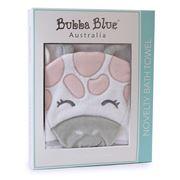 Bubba Blue - Girl Zoofari Novelty Bath Towel