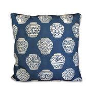 Stuart Membery Home - Ginger Jar Blue Cushion