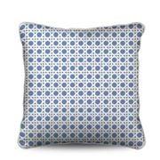Stuart Membery Home - Wicker Cruise Blue Cushion