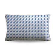 Stuart Membery Home - Wicker Cruise Blue Lumbar Cushion