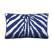 Stuart Membery Home - Zebra China Blue Lumbar Cushion