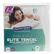 Protect-A-Bed - Silky & Cool Elite Tencel Protector King