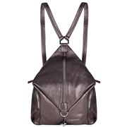 Fedon - Amelia Backpack Bottalato Metallic Beige