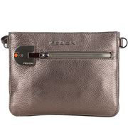 Fedon - Amelia Cross Body Bag Bottalato Metallic Beige