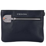 Fedon - Amelia Cross Body Bag  Bottalato Dark Blue
