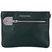 Fedon - Amelia Cross Body Bag Bottalato Light Green
