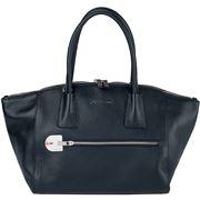 Fedon - Amelia Handbag Bottalato Dark Blue