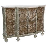 Raz - Casual Escape Distressed Cabinet