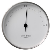 Georg Jensen - Koppel Thermometer White with Steel Border
