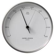 Georg Jensen - Koppel Large Barometer White w/Steel Border