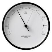 Georg Jensen - Koppel Large Barometer White w/Black Border