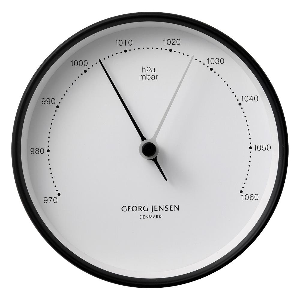georg jensen koppel large barometer white w black border. Black Bedroom Furniture Sets. Home Design Ideas