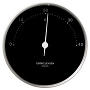 Georg Jensen - Koppel Thermometer Black with Steel Border