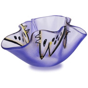 Kosta Boda - Happy Going Bowl Blue