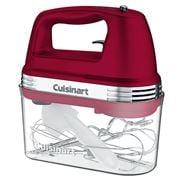 Cuisinart - Red 9-Speed Hand Mixer w/ Storage