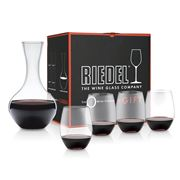 Riedel - O Series Cabernet Merlot Set 4pce + Bonus Decanter