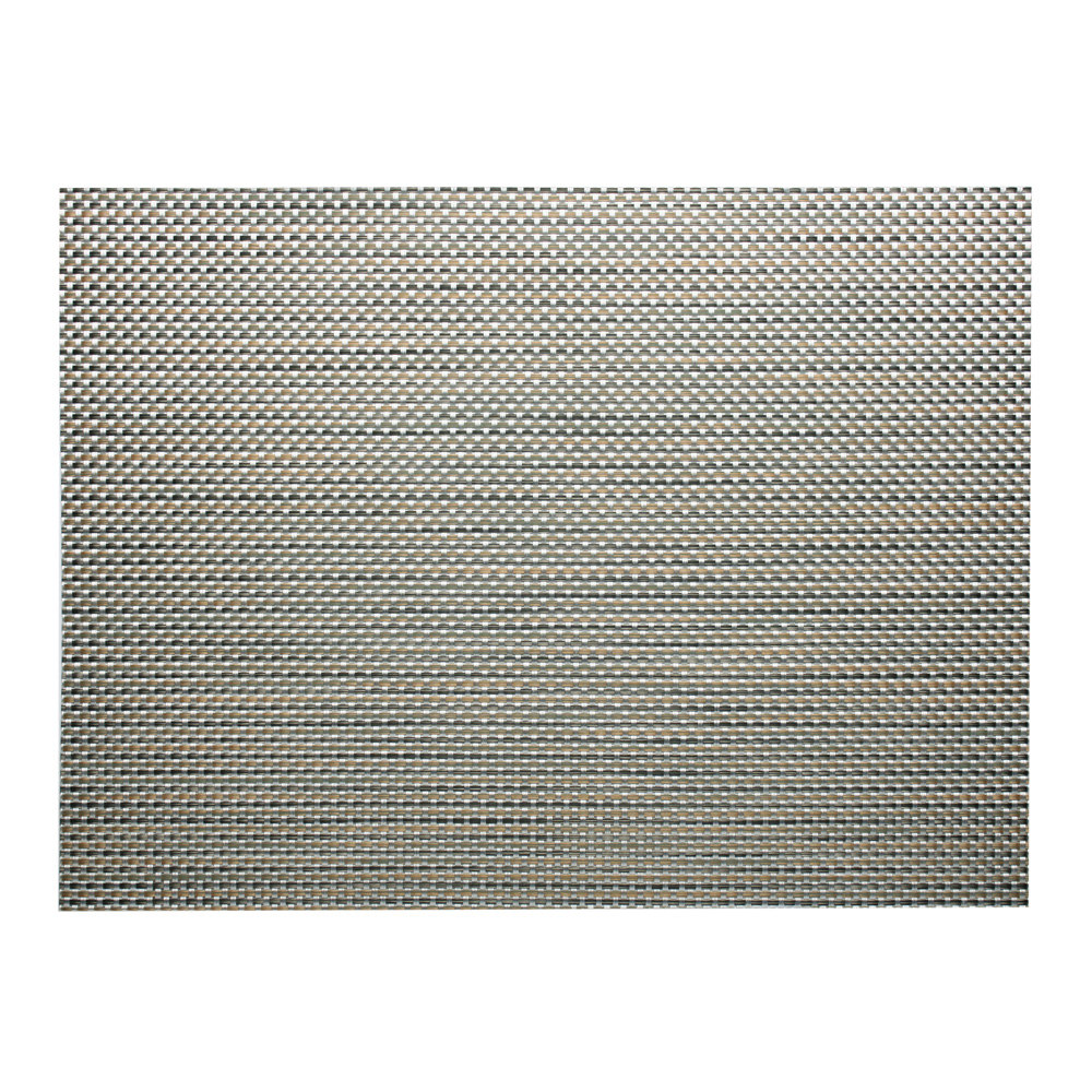 chilewich  basketweave aluminium placemat  peter's of kensington -