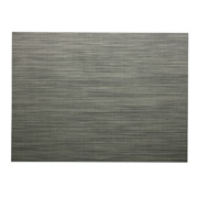 Chilewich - Mini Basketweave Placemat Light Grey