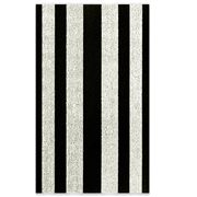Chilewich - Bold Stripe Blk & White Indoor/Outdoor Mat Large