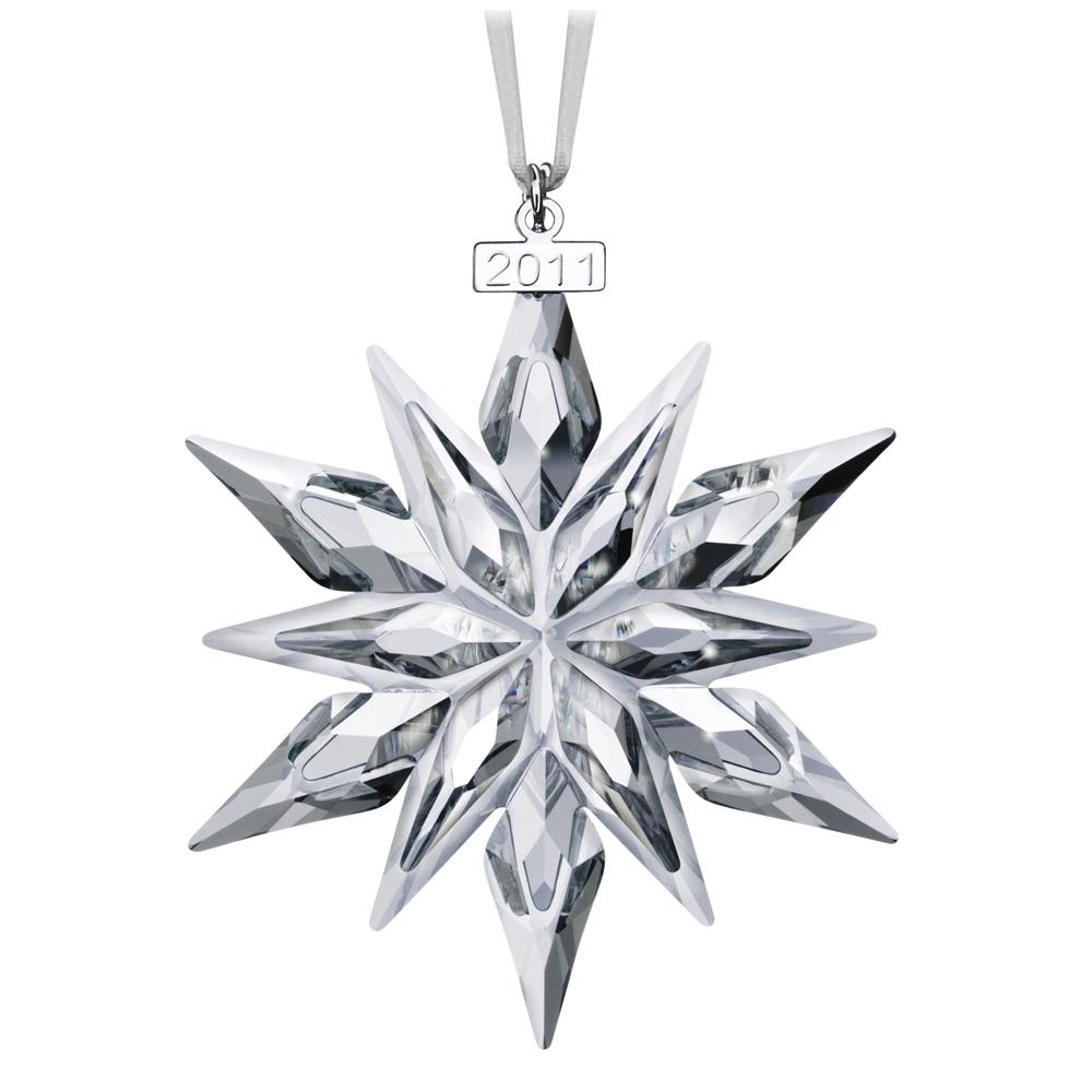 Swarovski Christmas Snowflake Ornament 2011