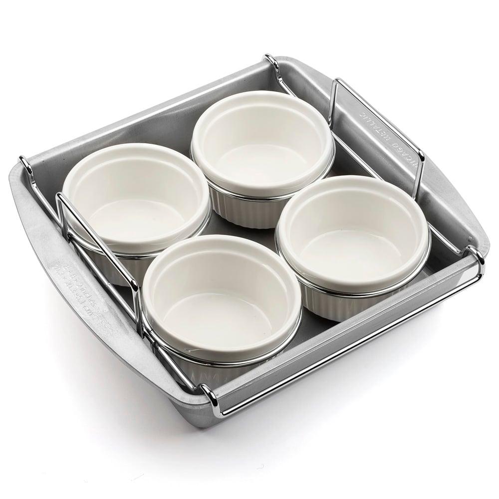 chicago metallic specialty creme brulee pan set peter 39 s of kensington. Black Bedroom Furniture Sets. Home Design Ideas