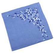 Kim Seybert - Shadow Flower Periwinkle Blue Napkin