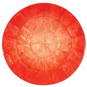 Kim Seybert - Capiz Shell Salmon Ombre Placemat