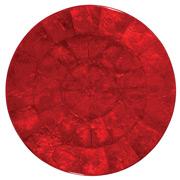 Kim Seybert - Capiz Shell Red Placemat