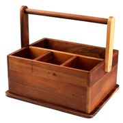 Davis & Waddell - Taste Acacia Wood Barbeque Caddy