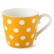 Konitz - Polka Dots Yellow Mug