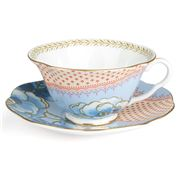 Wedgwood - Butterfly Bloom Teacup & Saucer Blue
